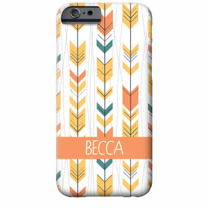 Personalized Arrows iPhone Case | Swanky Press