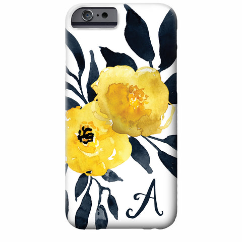 Floral Watercolor iPhone Case | Swanky Press