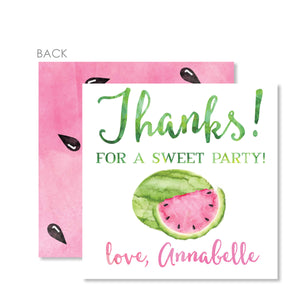 Watermelon Favor Tags | Swanky Press