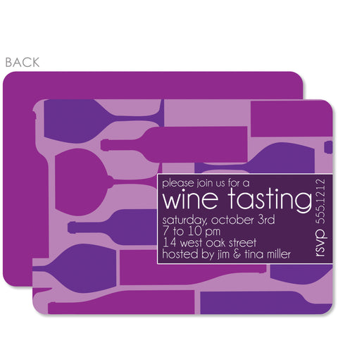 Wine Tasting Party Invitation | Swanky Press