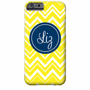 Zig Zag Chevron iPhone Case | Swanky Press