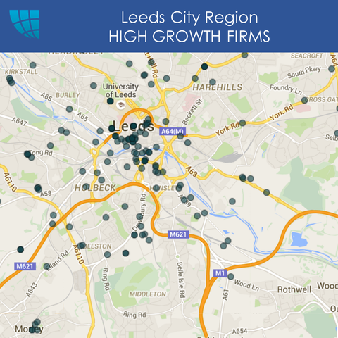 Leeds HIGH GROWTH FIRMS Snapshot, UK, 2017