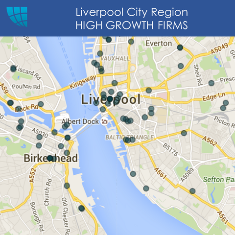 Liverpool HIGH GROWTH FIRMS, UK, 2017