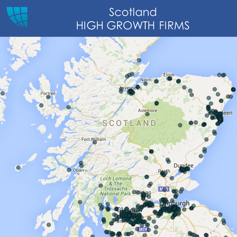 Scotland HIGH GROWTH FIRMS, UK, 2017