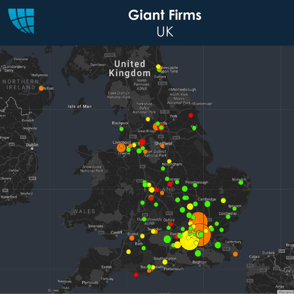 Giant Firms, UK, 2017