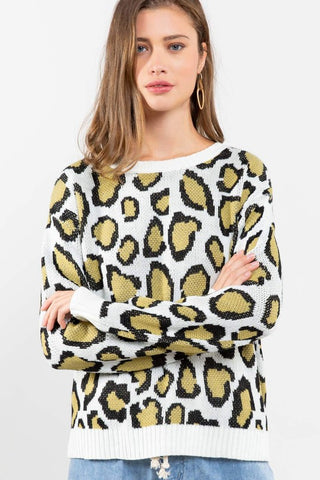 Ali Leopard Sweater
