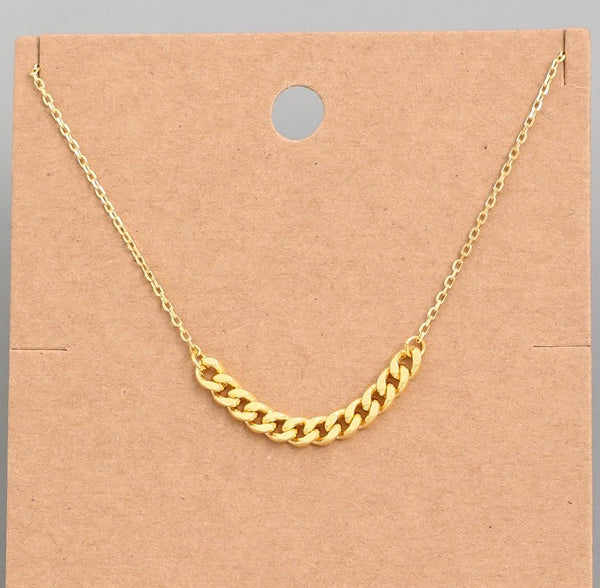 Twice as Nice Necklace - Gold