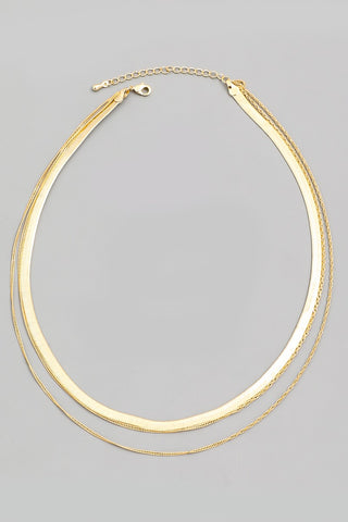 Trio Necklace - Gold