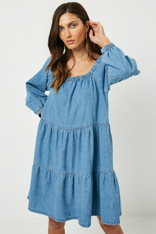 Chrissy Denim Dress