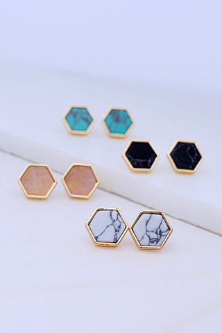 Hexagon Stud