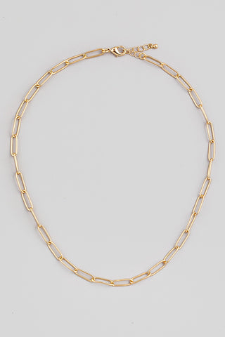 Big Sur Paperclip Chain Necklace