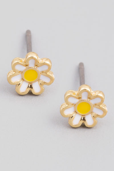 Baby Daisy Earrings