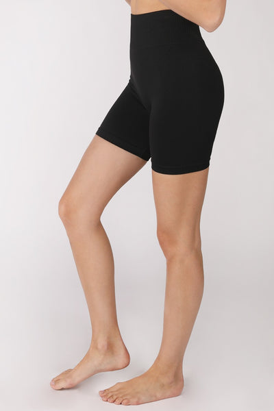 Basic Biker Shorts - Black
