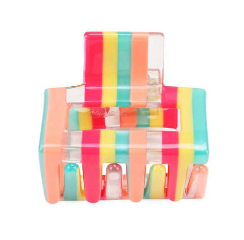 Party Hair Clip - Stripe