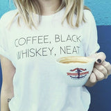 Coffee Whiskey Tee