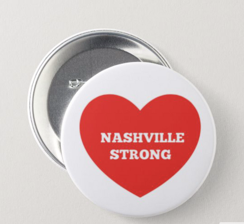 NASHVILLE STRONG - TORNADO RELIEF PIN