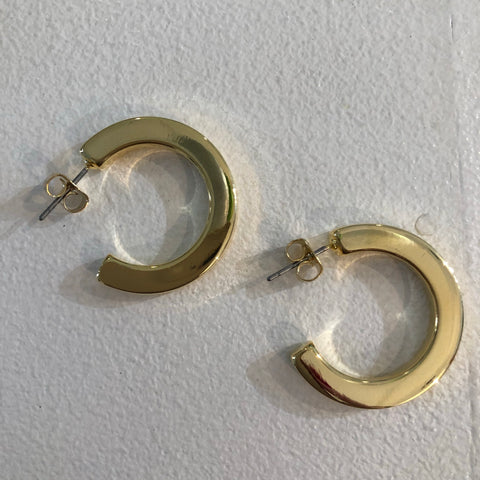 Everyday Gold Hoops