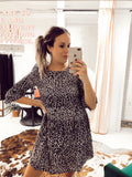 Kacey Leopard Dress