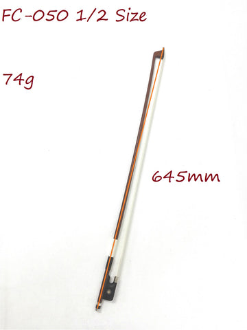 Symphony FC-050 1/2 Size Cello Bow–Brazil-wood, Octagonal Stick, Real Horse Hair