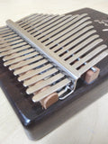 Haze 17-Key Solid Rosewood Kalimba MBIRA Thumb Piano w/Tutorial Manual HSH-01R