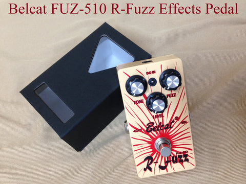 Belcat FUZ-510 R-Fuzz Effects Pedal,Orange, 110mm(L)* 60mm(W)* 50mm(H)