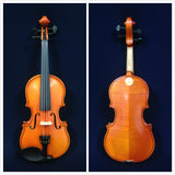 Handmade Kapok V888 Premium 1/8 Size Solid Wood Violin Pack-Foam Case,Rosin,Bow