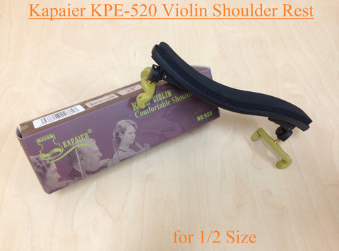 Kapaier KPE-520 Economy Model Violin Shoulder Rest for 1/2 Size Violin-Adjustable