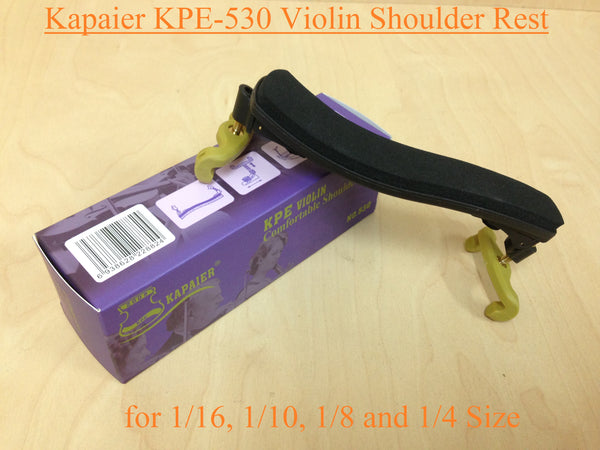 Kapaier KPE-530 Economy Model Violin Shoulder Rest for 1/16 ~ 1/4 Size Violin-Adjustable