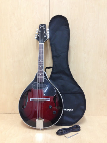 Caraya MA-005EQWRS A-style Mandolin with caraya bag