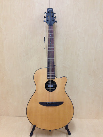 "38"" Haze 836 CSMN Round-back Acoustic/Classical Guitar,Natural Matt+7 Accessaries"