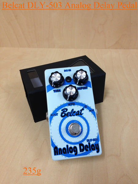 Belcat DLY-503 Analog Delay Effects Pedal,Blue- 235g, 110mm(L)* 62mm(W)* 50mm(H)