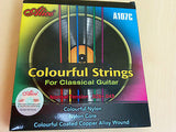 Alice A107C PROFESSIONAL Colorful Classical Guitar Nylon Strings 0.028~0.043inch