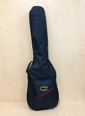 Caraya EBG-49D Economy Electric Bass Guitar Soft Bag Black w/back pack straps
