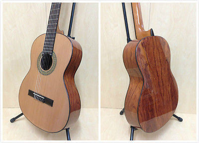 Miguel Rosales #11 Solid Cedar Top Classical Guitar,Bubinga Back & Sides+Gig Bag