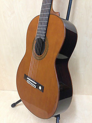 Miguel Almeria 501120 (S2-6S) Solid Cedar Top Classical Guitar Natural + Free Gig Bag