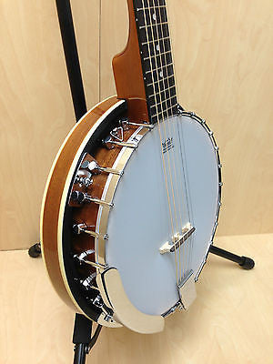 Brand new Caraya 6 string Banjo with Free carry bag. BJ-006