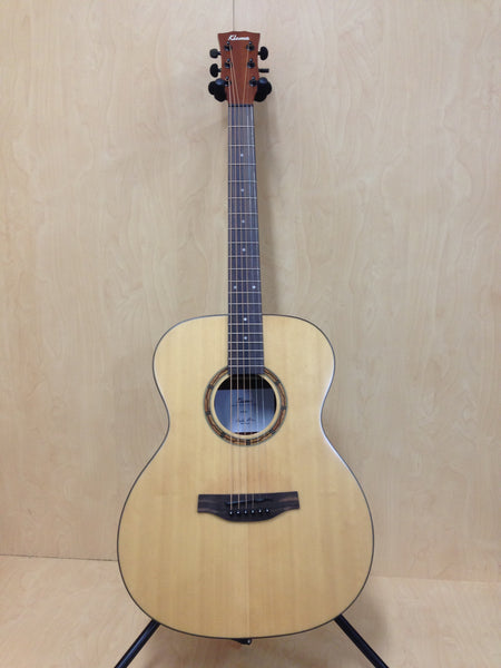 Klema K100JS Solid Spruce Top,Jumbo Acoustic Guitar,Natural Matt +Free Gig Bag