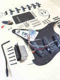 Black Electric Guitar Hardware Accessories Parts,No-Soldering HSST 1910PP-BK