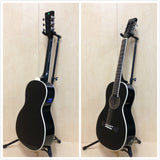 Caraya Parlor-590BK Electric-Acoustic Guita,EQ,Black Gloss +Free Gig Bag,3 Picks