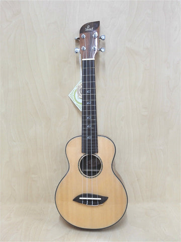 Leaf Q100 Solid Spruce Top Concert Ukulele Cosmetic Blemished