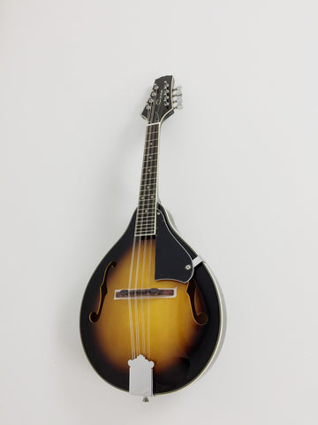 Caraya MA-001BS A-Style Mandolin,Dark Sunburst+Free gig bag,3 Picks