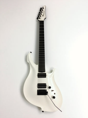 KOLOSS GT-4 Aluminum body Carbon fiber neck electric guitar White+Bag|GT-4 White|