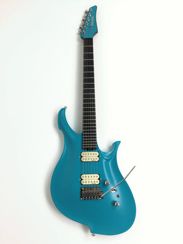 KOLOSS GT-4 Aluminum body Carbon fiber neck electric guitar Blue+Bag|GT-4 BLUE|