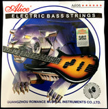 Alice A606M Electric Bass Guitar Strings Medium -5 strings, .045 ~.130