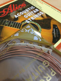"Alice AW436-L Professional Acoustic Guitar Strings (.012""~.053"")Concert Strings"