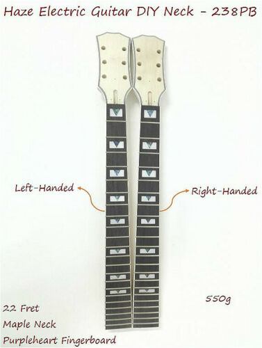 Haze Electric Guitar DIY Neck,Right-Handed,Left-Handed,LP Style,22 Fret. 238PB