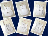 Solid Basswood Electric Guitar Body, Pre-Drilled & Polished- HSSG 19300BO