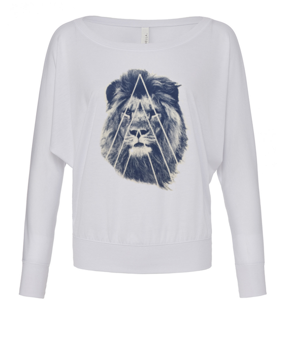 Navy Street Lion Sweater