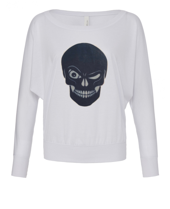 Winking Skull Sweater - BY DEFINITION