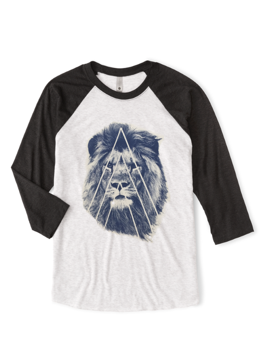 Unisex Navy Street Lion Jersey - BY DEFINITION